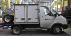 ГАЗ 3302. Автомобиль «Гибрид» фургон изотермический, пищевая бочка ГАЗель 3302., 2 600куб. см., 1 500кг., 4x2