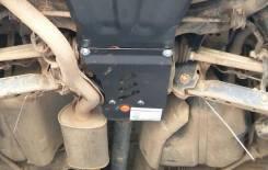 Защита редуктора заднего моста Nissan X-trail 31/32 Qashqai сталь 2мм