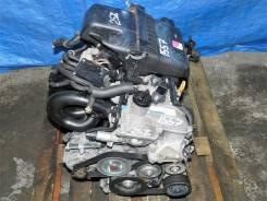 Контрактный двигатель Toyota Vitz 2006г. SCP90 2SZFE (в сборе) A1557