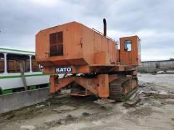 Kato. Самоходная машина на гусеничном шасси для бурения скважин КАТО модели