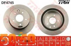 Тормозной диск DF4745 TRW