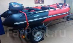 Лодка «Ривьера-340»+мотор Sea-Pro oth 9.9 (15л. с. )