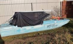 Лодка ОБЬ-3 1990г. с 2-мя моторами