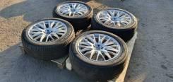 """Продам шикарный комплект колес RAYS Homura 2x9 R20 отправка в регионы. 8.5/9.5x20"""" 5x114.30 ET-38/45"""