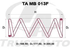Комплект Пружин Delica D5 CV5W 4B12 2400 см? (06-)/Outlander CW1W, CW6