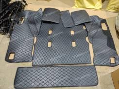 3Д Коврики в багажник Land Cruiser 200/LX 570 7 мест (полный комплект)