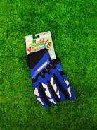 Перчатки синие S, на мототехнику