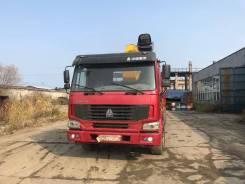 Howo 336. Продам бортовой грузовик г/п 20 тонн , с манипулятором 14 тонн, 9 726куб. см., 20 000кг., 6x4