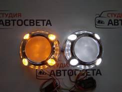 Маски для линзы c ангельскими глазками Panamera LED б/ж