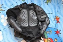 Защита тела (черепаха) Agvsport Protection Jaket черная р-р L