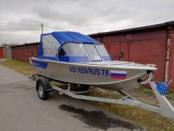 Моторная лодка Салют 430 Scout 2019