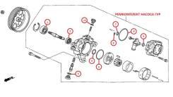 Ремкомплект насоса ГУР Honda Accord CL9 Европа