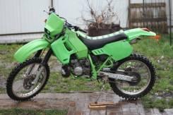 Kawasaki KDX 200SR, 1989
