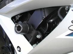 Комплект слайдеров, без резки пластика- SUZUKI - GSX 650 F 08> - Черные / Bike design ROUND -