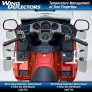 Дефлектор боковой National Cycle N5114 Honda GL1800 для мотоциклов Honda GL1800