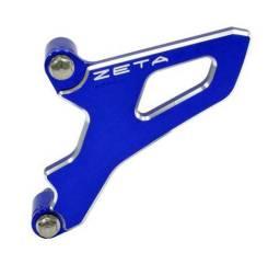 Защита передней звезды Yamah YZF450 03-13 WRF450 03-15 алюминиевая синия ZETA 5TA-15421-00-00 5TA-