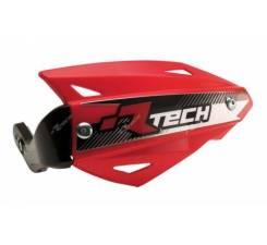 Защита рук Vertigo ATV красная с крепежом