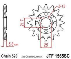 Звезда передняя JT JTF1565.14SC для мотоциклов