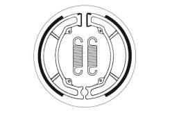 Тормозные колодки барабанные SBS 2034 для мотоциклов