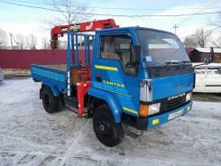 Mitsubishi Fuso Canter. Продам грузовик бортовой с манипулятором 2,5т Mitsubishi Canter 4WD, 3 600куб. см., 2 000кг., 4x4