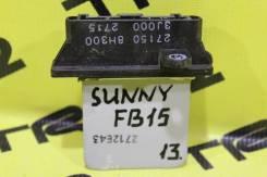 Реостат печки Nissan Sunny FB15, Контрактный.