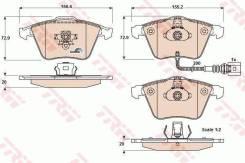 GDB1616 964 32 ! колодки дисковые п. Audi A3 Sportback 1.8/3.2i V6/2.0