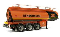 GT7 ППЦН-28. Нефтевоз ППЦН-28 в Москве, 27 000кг.