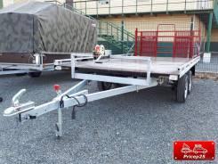 """Прицеп """"Тандем"""" для перевозки квадроцикла и снегохода (2х3.6 метра)"""
