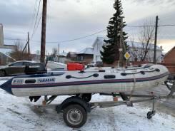 Лодка с мотором Suzuki 30+ прицеп