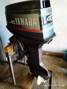Yamaha. 40,00л.с., 2-тактный, бензиновый, нога L (508 мм)