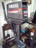 Yamaha. 30,00л.с., 2-тактный, бензиновый, нога S (381 мм), 1999 год
