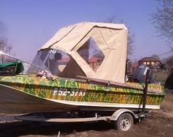 Комплект: лодка казанка 5м2 с мотором + прицеп