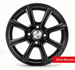 Диск колесный 14x5,5 4x98 ET38 d.58,6 Скад Монако черный-бархат