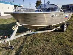 Моторная лодка Quintrex 475