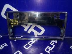 Рамка номера Toyota RAV4, задняя