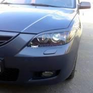 Защита фар прозрачная. Mazda Mazda3, BK L3VE, LF17, RF7J, Y601, Z6, ZJVE