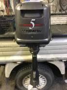 Tohatsu. 5,00л.с., 2-тактный, бензиновый, нога S (381 мм), 2004 год