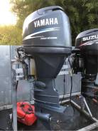 Yamaha. 90,00л.с., 4-тактный, бензиновый, нога X (635 мм), 2007 год