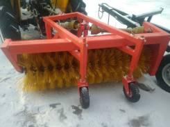 Дисковая подметальная коммунальная дорожная щетка 1,4м трактора