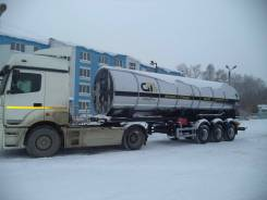 GT7 ППЦТУ-25. Цистерна для углекислоты GT7 Ппцту-25 (ЦЖУ-25) в Москве, 24 365кг.