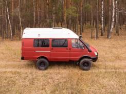 ГАЗ 322170. Экспедиционный автомобиль для путешествий / охоты / рыбалки, 2 800куб. см.