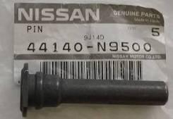 Палец направляющий суппорта нижний Nissan [44140N9500], передний