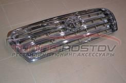 Решетка радиатора с эмблемой хром Land Cruiser 200 07-15