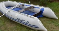 Лодка ПВХ Солар Optima 350 состояние отличное