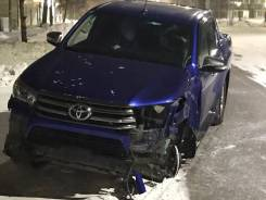 Toyota hilux 2016 в разбор
