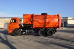 Рарз МК-4454-08. Мусоровоз с боковой загрузкой МК-4554 (маятник) на шасси Камаз 65115, 11 762куб. см. Под заказ