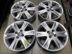 """Оригинальные литые диски Тойота 16"""" (4*100) 6j et+51 цо54.1мм"""