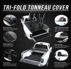 Крышка грузового отсека пикапа Ford F150, F250, F350; Toyota Tundra, Ram