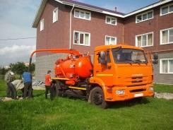 Коммаш КО-510К. Илососная машина КО-510К на шасси Камаз 43253 Евро-5, 6 700куб. см. Под заказ