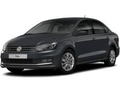 Бампер передний Volkswagen POLO 10-14 4D Deep (Черный перламутр)